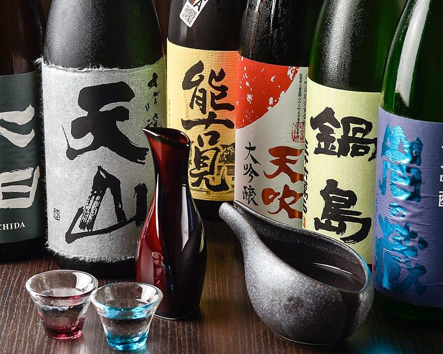 佐賀の地酒を揃えております。
