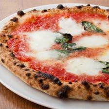 本格ピザを低価格で楽しめます!!