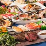和洋折衷の様々なお料理のご宴会プランをご用意しております