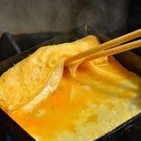 和食一筋、10年以上の経験をもつシェフが作るふんわり出汁巻玉子