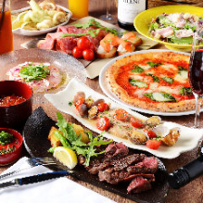 イタリアンを中心に味わえるコース