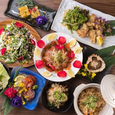 隠れ家個室 ユッケ肉寿司×野菜巻き串 菜花 ‐NABANA‐ 梅田店 店内の画像