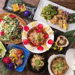 隠れ家個室 ユッケ肉寿司×野菜巻き串 菜花 ‐NABANA‐ 梅田店