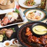 中国茶や紹興酒との相性抜群の料理が満載