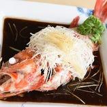 鮮魚の広東蒸し