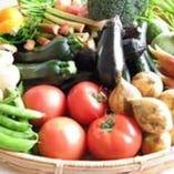自社で育つ肥料・農薬不使用野菜を使用。野菜本来の味を届けます