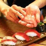 鮮魚にこだわり有♪魚好きを唸らせる、プロの目利き!