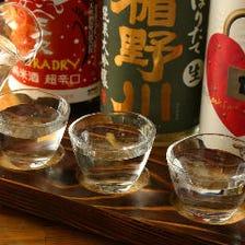 四季に合わせた旬のお酒を。