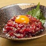 馬ユッケ(桜肉)