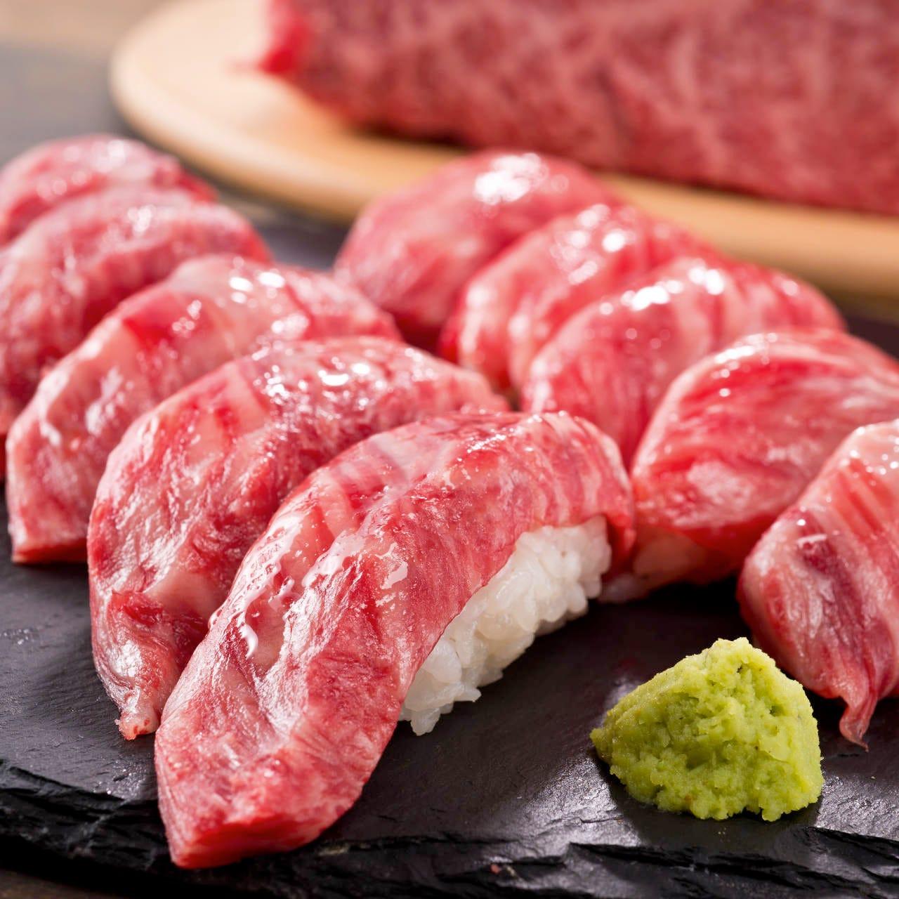 当店人気の炙り寿司を使用したコースが新登場☆