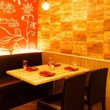 個室もご用意♪熊本下通りでの記念日やデートにも最適です。