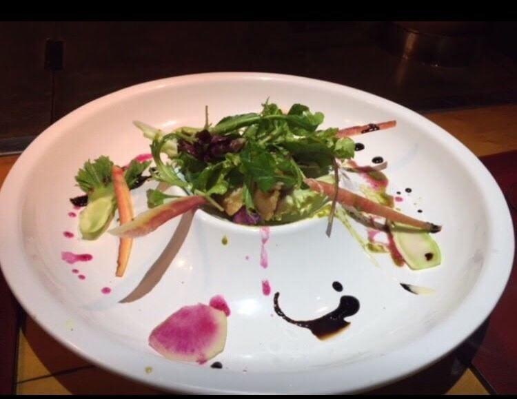 四季折々の新鮮な糸島産野菜を使用