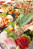 宴会コース内容は季節の食材を利用した内容にリニューアル!!