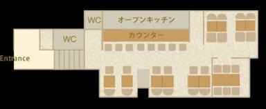 宮崎地鶏炭火焼 車 恵比寿店 店内の画像