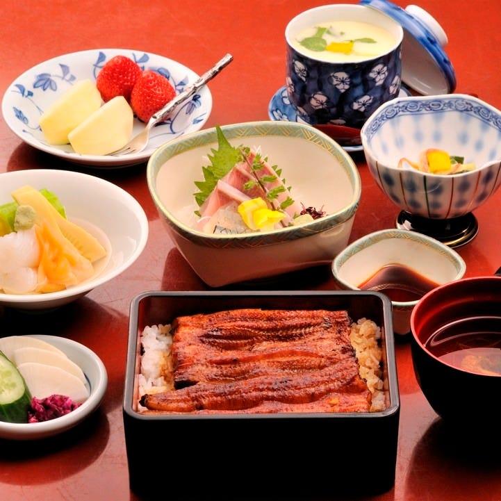 お昼のご宴会におすすめ!! うなぎ御膳の亀コースと鶴コース