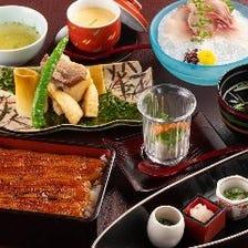 満寿家のご宴会特別コース※個室ご利用のお客様には、奉仕料10%頂戴致します。