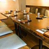 ご宴会に最適なテーブル席(~8名様)