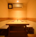 ゆっくりとプライベートなお時間をお過ごし頂ける完全個室【~4名様まで】