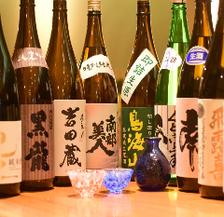 全国津々浦々100種類以上の日本酒