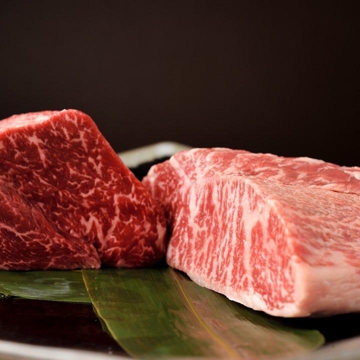 王道極める焼肉店の厳選松阪牛に舌鼓