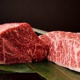 松阪牛の中でも特に質のよいものを厳選仕入れ!