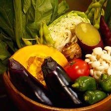 産地直送の野菜達