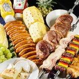 肉質にこだわり珍しい希少部位のお肉をご用意しております。