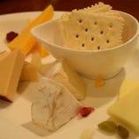 チーズ5種盛り合わせ