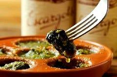 Escargot a la Bourguignon◆◇エスカルゴの香草バター焼き♭♭