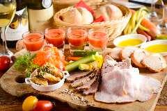 ★☆hors-d'?uvre 前菜の盛合せ♭♭ WINEの肴が満載♪♪フレンチ前菜盛合せ