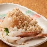 函館津軽のスルメイカ(真イカ)、甘くて美味しい、北海道の定番食