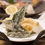 加賀野菜の天ぷら