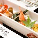 金沢らしさあふれる本格和食を堪能!加賀会席〈全9品〉5,500円