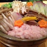 近江町ちゃんこ鍋コース(塩・醤油・辛味噌)〈全6品〉4,950円
