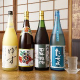 日本酒や焼酎もバラエティ豊かにそろえている