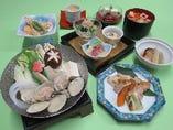 季節限定コース 山桜(やまざくら) 4,500円(税込)