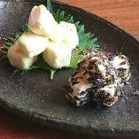西京味噌のクリームチーズ