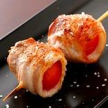 豚巻きトマト