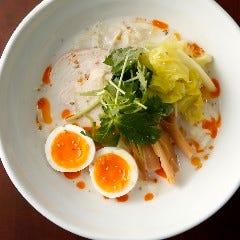白湯スープの鶏そば