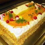 『バースデーケーキ』もお作りいたします。(要予約)