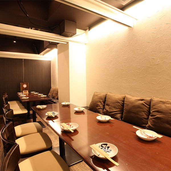 横浜駅4分の穴場!全席完全個室です