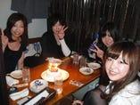 笑顔が素敵な女性4名様でご来店ありがとうございました!