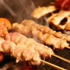 串焼盛(5本 もも・ねぎ間・皮・内臓・ししとう)