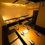 【掘りごたつ席貸切/15~20名様】店内奥のスペースを貸切ってプライベートにご宴会!