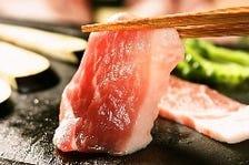 幻の島豚アグーを富士山溶岩焼きで!!
