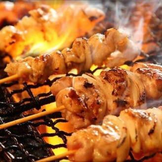 焼鳥や肉寿司食べ放題コースも◎