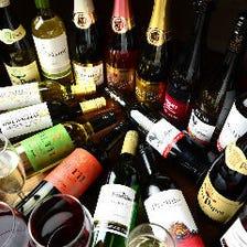 ★グラスワイン無制限飲み放題★