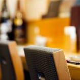 テーブル個室あり(1室/3名~8名様用/扉・壁あり)【接待/会食】