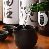 【極上銘酒揃い】 絶品料理と相性◎な日本酒&本格焼酎をご用意