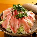 びっくりべこちゃん陶板焼 えびすもち豚ロースキムチ